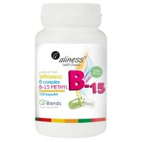 Witamina B Complex B-15 Methyl (100 kaps.) Aliness