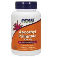 Palmitynian Askorbylu 500 mg (100 kaps.) NOW Foods
