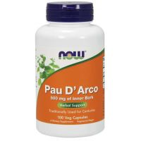 Pau D'Arco 500 mg (100 kaps.) NOW Foods