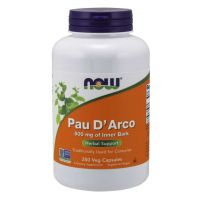 Pau D'Arco 500 mg (250 kaps.) NOW Foods