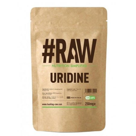 Uridine - Urydyna 250 mg (120 kaps.) RAW series
