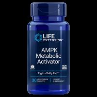 Aktywator Metabolizmu - AMPK Metabolic Activator - Hesperydyna + ActivAMP (z liści Gynostemma) + Wapń (30 tabl.) Life Extension