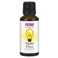 Mental Focus Oil (30 ml) NOW Foods