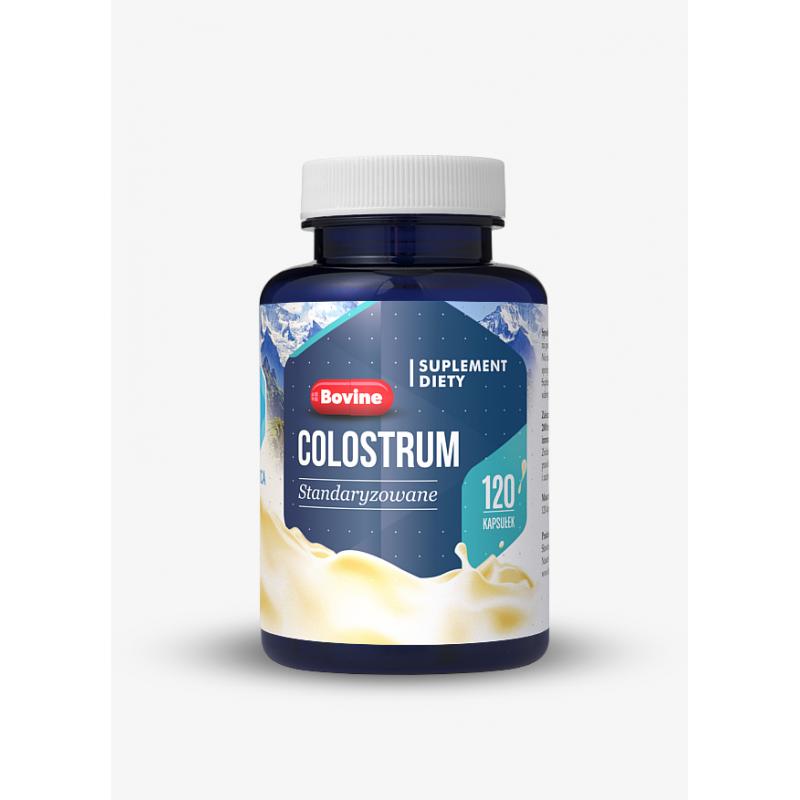 Colostrum Wołowe 440 mg (120 kaps.) Hepatica