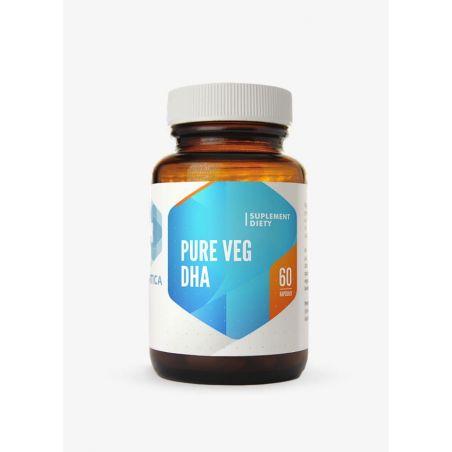 Pure Veg DHA - Kwas Dokozaheksaenowy (DHA) 200 mg (60 kaps.) Hepatica