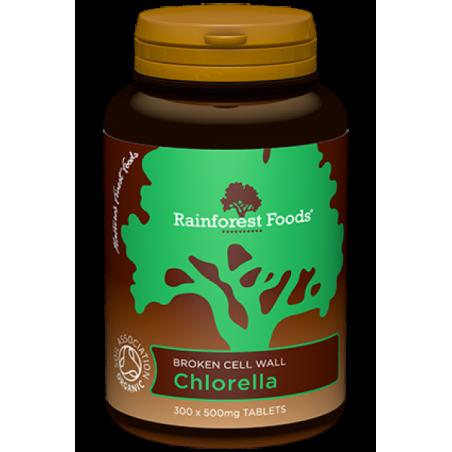 BIO Chlorella (300 tabl.) Rainforest Foods
