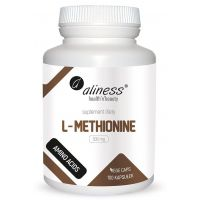 L-Metionina 500 mg (100 kaps.) Aliness