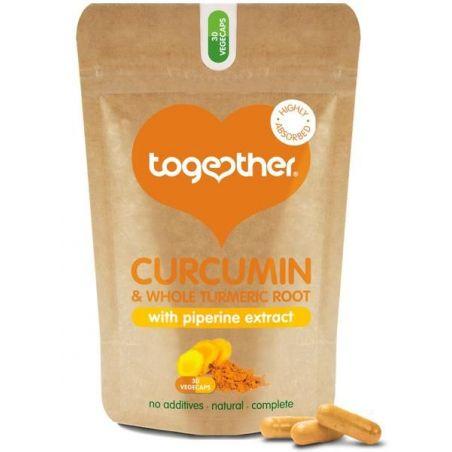 Kurkumina i Piperyna standaryzowany ekstrakt 95% (30 kaps.) Together