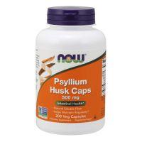 Psyllium Husk Caps - Babka Płesznik 500 mg (200 kaps.) NOW Foods