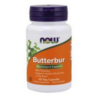 Butterbur - Lepiężnik Różowy 75 mg (60 kaps.) NOW Foods