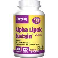Alpha Lipoic Sustain - Kwas Alfa Liponowy 300 mg + Biotyna 330 mcg (120 tabl.) Jarrow Formulas