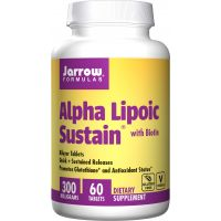 copy of Alpha Lipoic Sustain - Kwas Alfa Liponowy 300 mg + Biotyna 330 mcg (60 tabl.) Jarrow Formulas
