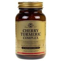 Cherry Turmeric Complex - Wiśnia, Kurkuma i Imbir (60 kaps.) Solgar