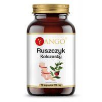 Ruszczyk Kolczasty - ekstrakt standaryzowany na 5% ruskogeniny (90 kaps.) Yango