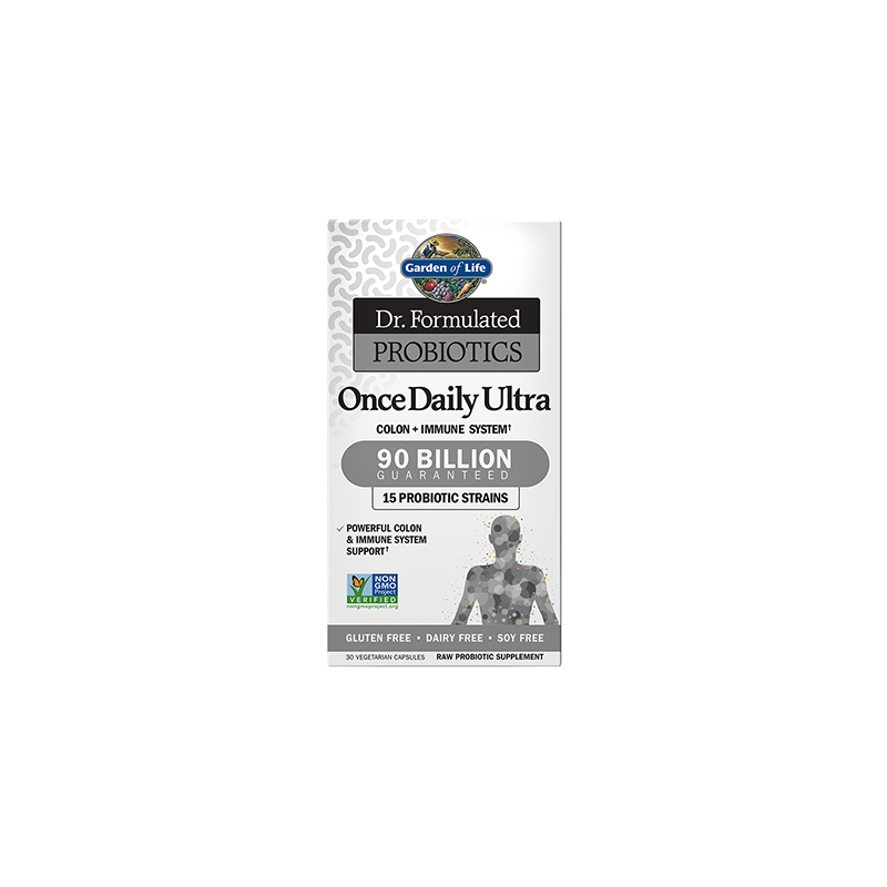 Once Daily Ultra Probiotics (30 kaps.) Garden of Life