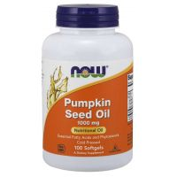 Pumpkin Seed Oil - Olej z Pestek Dyni 1000 mg (100 kaps.) NOW Foods