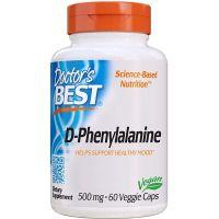 D-Phenylalanine - D-Fentyloalanina 500 mg (60 kaps.) Doctor's Best