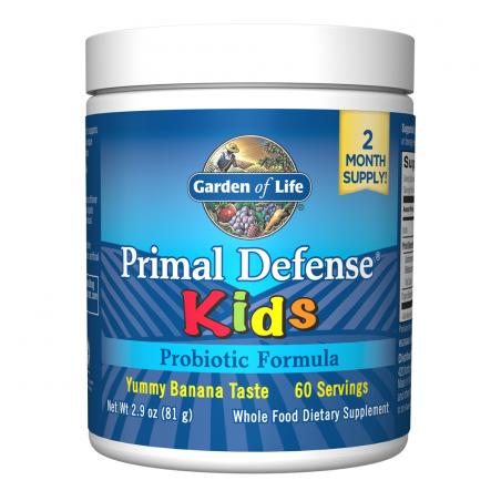 Probiotyk Primal Defense Kids (81 g) Garden of Life