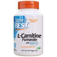 L-Carnitine Fumarate - Fumaran L-Karnityny 855 mg (180 kaps.) Doctor's Best
