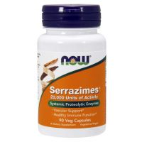 Serrazimes - Enzym Serrapeptaza 20 000 SPU (90 kaps.) NOW Foods