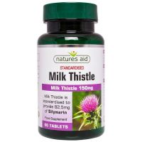 Milk Thistle - Ostropest Plamisty 150 mg (60 tabl.) Natures Aid