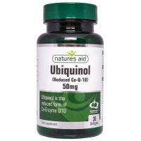 Ubichinol - Koenzym Q10 Kaneka 50 mg (30 kaps.) Natures Aid