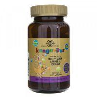 Kanguvity do ssania (Kangavites) zestaw Witamin i Minerałów (smak soczyste jagody) (120 tabl.) Solgar