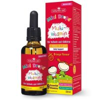 Multi-vitamin Mini Drops - Multiwitamina dla dzieci (50 ml) Natures Aid