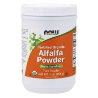 BIO Alfalfa - Lucerna Siewna (454 g) NOW Foods