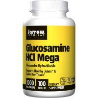 Glukozamina HCL - Glucosamine HCl Mega 1000 mg (100 tabl.) Jarrow Formulas