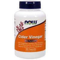Cider Vinegar - Ocet Jabłkowy (180 kaps.) NOW Foods