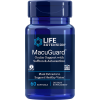 MacuGuard Ocular Support with Saffron & Astaxanthin (60 kaps.) Life Extension