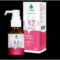 Witamina K2 Mk7 (VitaMK7) 20 mcg (30 ml) Avitale