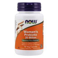 Women's Probiotic - Probiotyk dla Kobiet 20 miliardów CFU (50 kaps.) NOW Foods
