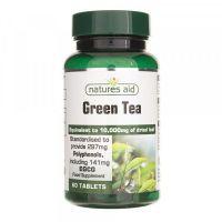 Green Tea - Zielona herbata 313 mg (60 tabl.) Natures Aid