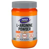 L-Arginina (454 g) NOW Foods