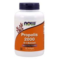 Propolis 2000 - ekstrakt 5:1 (90 kaps.) NOW Foods