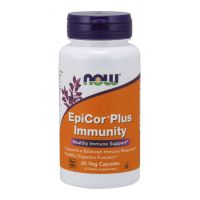 EpiCor Plus Immunity - Saccharomyces Cerevisiae 500 mg (60 kaps.) NOW Foods