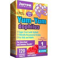 Probiotyk Yum-Yum Dophilus do żucia (120 tabl.) Jarrow Formulas