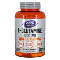 L-Glutamina 1000 mg (120 kaps.) NOW Foods