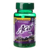 Acai Berry - Jagody Acai 1500 mg (120 tabl.) Holland & Barrett