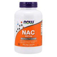 NAC - N-Acetylo-L-Cysteina 600 mg (250 kaps.) NOW Foods