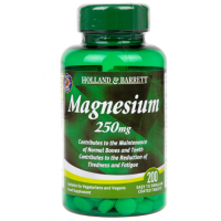 Magnesium - Magnez 250 mg (200 tabl.) Holland & Barrett