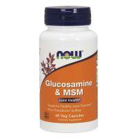 Glukozamina i MSM (60 kaps.) NOW Foods