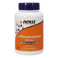L-Phenylalanine - L-Fenyloalanina 500 mg (120 kaps.) NOW Foods
