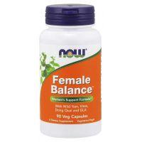 Female Balance - Kompleks dla Kobiet (90 kaps.) NOW Foods