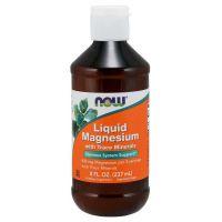 Magnesium Liquid - Magnez (237 ml) NOW Foods