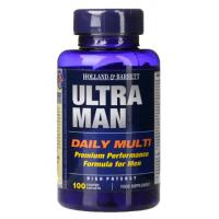 Ultra Man - Zestaw Witamin i Minerałów dla Mężczyzn (100 tabl.) Holland & Barrett