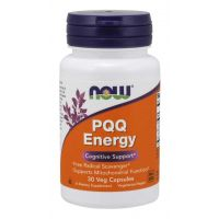 PQQ Pirolochinolinochinon - PQQ Energy (30 kaps.) NOW Foods