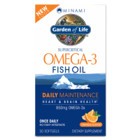 Minami Omega-3 Fish Oil Daily Maintenance - Kwasy Omega 3 DHA EPA (60 kaps.) Garden of Life